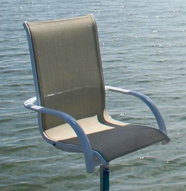 Umbrella Table And Chairs Boat Docks Amp Piers Aluminum